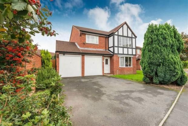 Thumbnail Detached house to rent in Plover Gate, Telford
