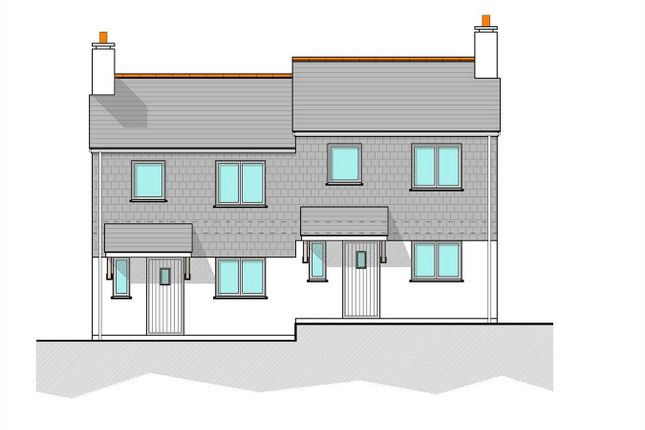 Thumbnail Semi-detached house for sale in Fore Street, Nanpean, St Austell, Cornwall