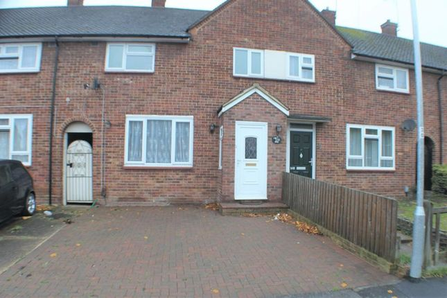 Thumbnail 3 bedroom terraced house to rent in Daventry Road, Harold Hill, Romford