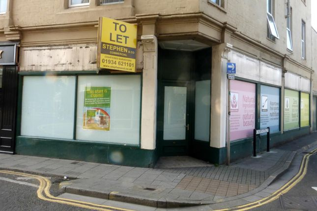 Retail premises for sale in Meadow Street, Weston-Super-Mare