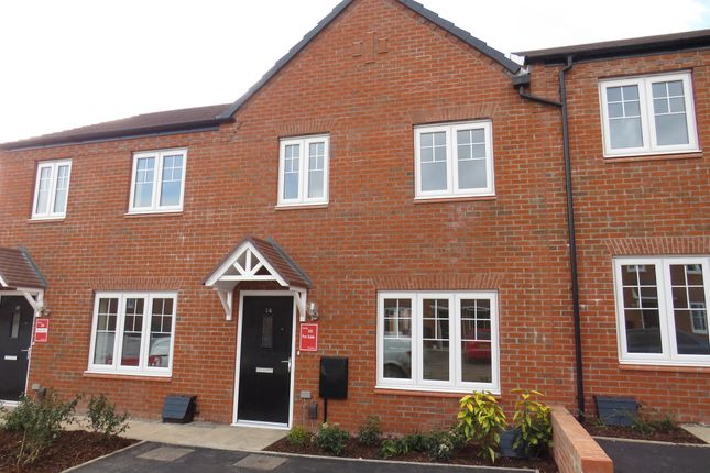 Terraced house for sale in Perrycrofts Crescent, Tamworth