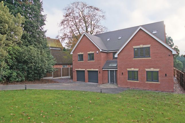 Thumbnail Detached house for sale in Plymouth Road, Barnt Green, Birmingham