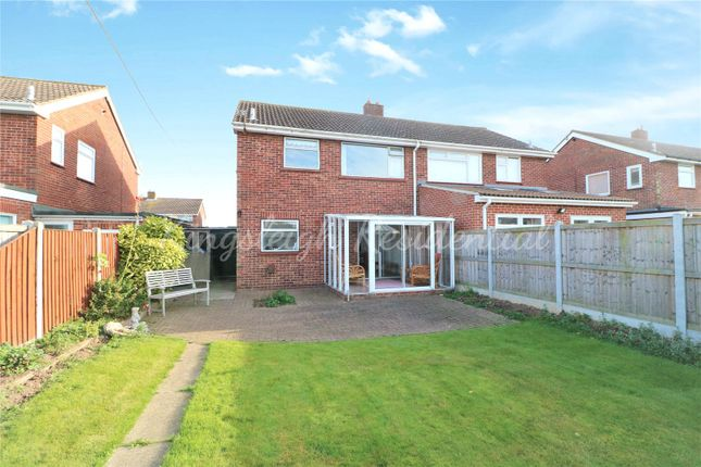 Thumbnail Semi-detached house for sale in Cavendish Drive, Lawford, Manningtree, Essex