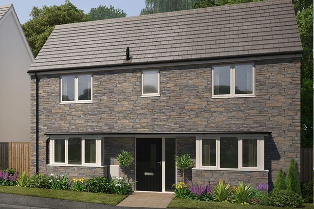"Thumbnail Detached house for sale in ""The Primrose"" at Church Road, Shortlanesend, Truro"