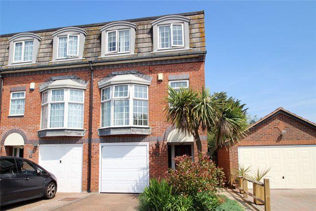Thumbnail End terrace house for sale in Drewetts Close, Rustington, Littlehampton