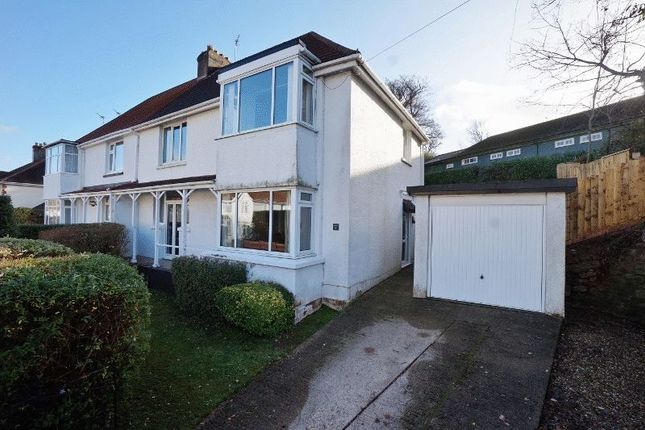 Thumbnail Semi-detached house for sale in Oldway Road, Paignton
