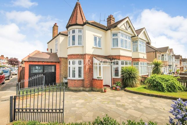 Thumbnail Semi-detached house for sale in Havering Road, Romford