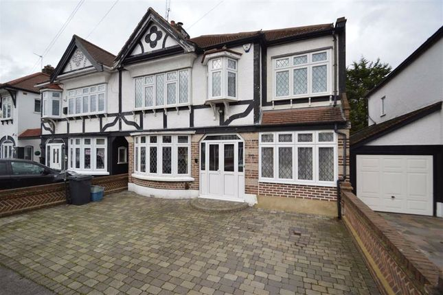 Thumbnail Semi-detached house for sale in Abbotswood Gardens, Clayhall, Essex