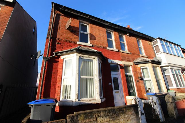 Thumbnail End terrace house to rent in Manchester Road, Blackpool