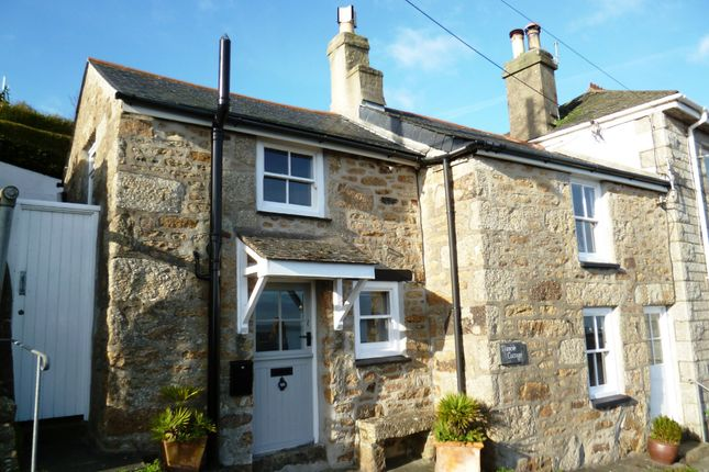 Thumbnail End terrace house for sale in Raginnis Hill, Mousehole, Penzance
