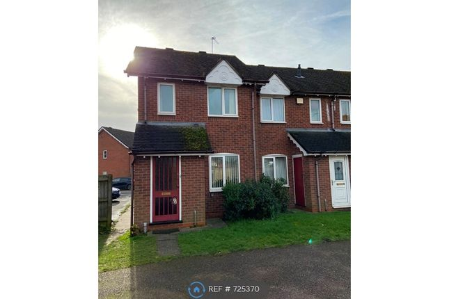 Thumbnail End terrace house to rent in Churnet Court, Burton-On-Trent