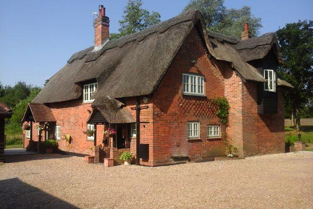 Thumbnail Detached house for sale in Aldermaston Road, Pamber End, Tadley