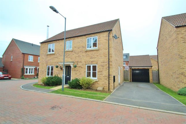 Thumbnail Detached house for sale in Fletton End, Calvert, Buckingham