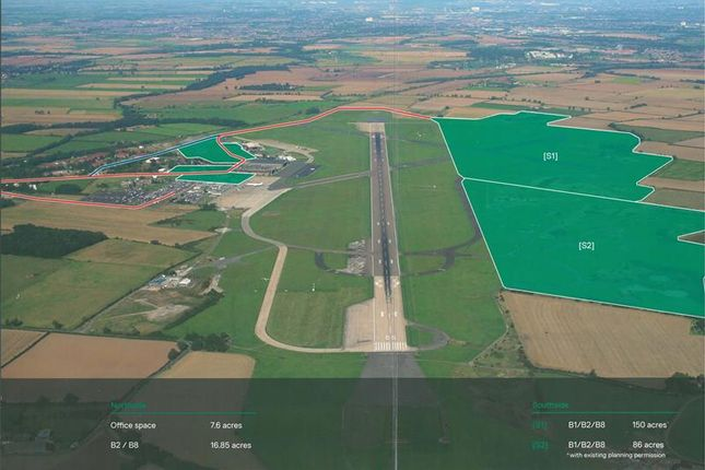 Thumbnail Land to let in Aero Centre Tees Valley, Durham Tees Valley Airport, Tees Valley, Darlington, County Durham