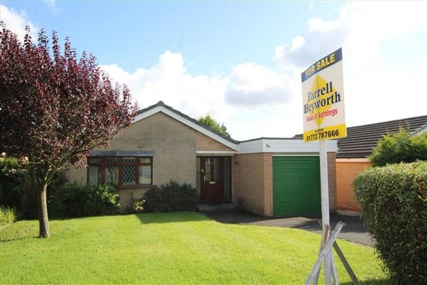 Thumbnail Bungalow to rent in Lorton Close, Fulwood, Preston