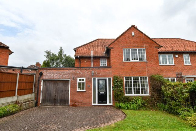 Thumbnail Semi-detached house for sale in Innage Road, Bournville Village Trust, Northfield, Birmingham