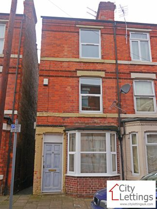 Thumbnail Terraced house to rent in Chippendale Street, Nottingham
