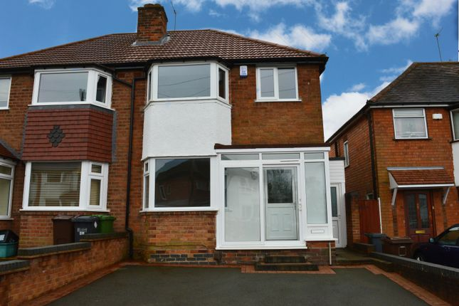 3 bed semi-detached house to rent in Wiseacre Croft, Shirley, Solihull, West Midlands B90