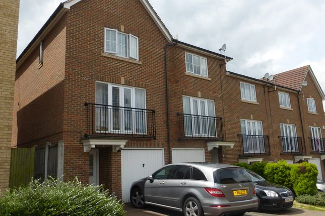 Thumbnail End terrace house to rent in Tregony Road, Orpington Kent