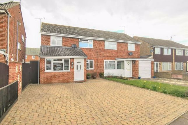 3 bed semi-detached house for sale in Rowland Way, Aylesbury HP19