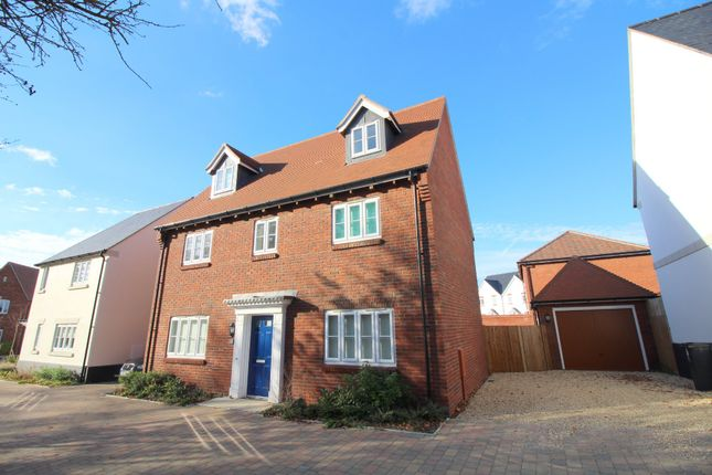 Thumbnail Detached house for sale in Kingfisher Drive, Upton, Poole