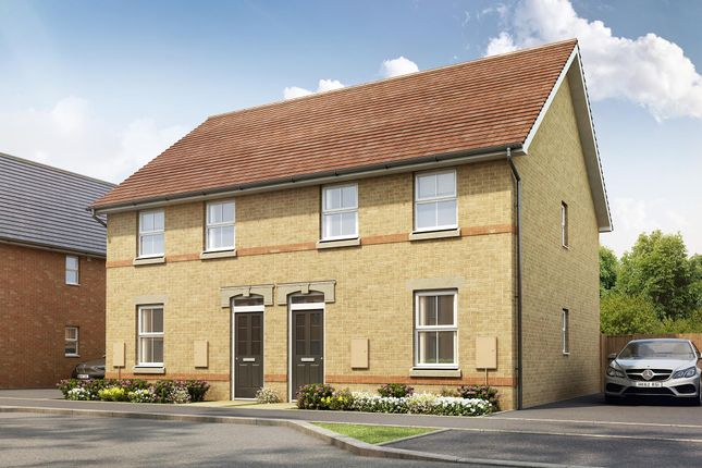 """Thumbnail Semi-detached house for sale in """"Finchley"""" at Pedersen Way, Northstowe, Cambridge"""