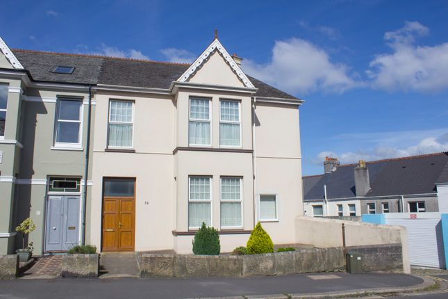 Thumbnail End terrace house for sale in Weston Park Road, Peverell, Plymouth