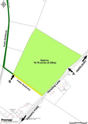 Site Plan of Hensting Lane, Winchester SO21