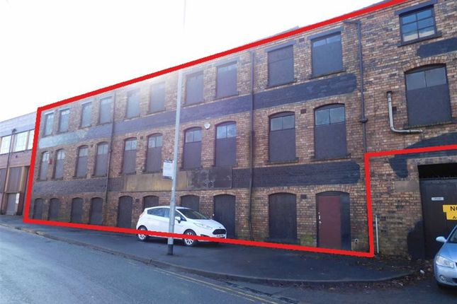 Thumbnail Light industrial for sale in Sutherland Road, Stoke-On-Trent, Staffordshire