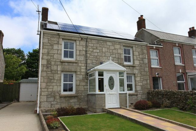 Thumbnail Semi-detached house for sale in Trelavour Prazey, St Dennis, St Austell, Cornwall