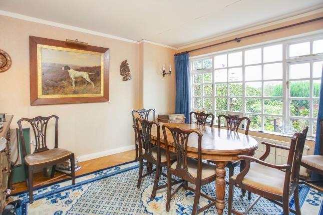 Dining Room of Castle Hill, Prestbury, Macclesfield, Cheshire SK10