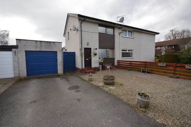 Thumbnail Semi-detached house for sale in Blackthorn Road, Culloden, Inverness