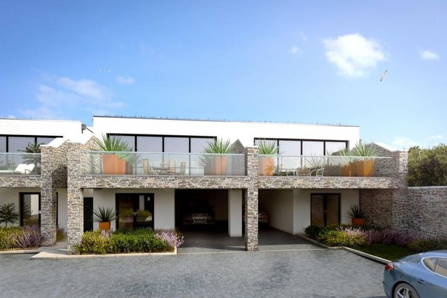 Thumbnail Semi-detached house for sale in Azure, Boskerris Road, Carbis Bay, St Ives