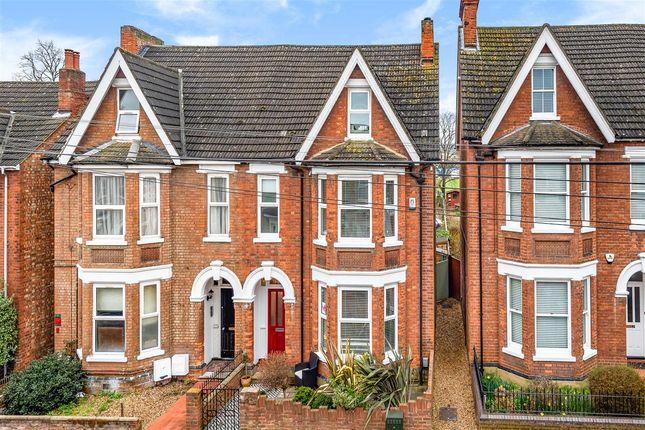 Thumbnail Semi-detached house for sale in Goldington Avenue, Bedford