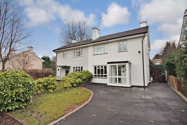 Thumbnail Semi-detached house for sale in Elmdon Park Road, Solihull