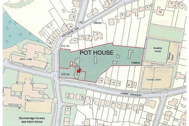 Thumbnail Land for sale in Residential Development Opportunity, Pot House Lane, Stocksbridge