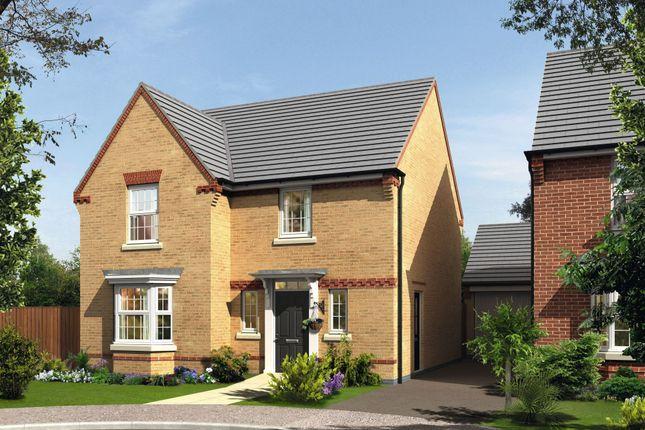 "Thumbnail Detached house for sale in ""Shenton"" at Folly View Close, Penperlleni, Pontypool"
