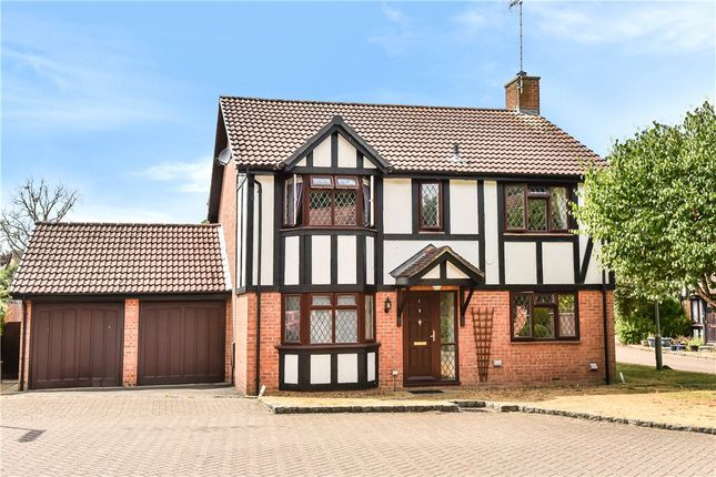 Thumbnail Detached house for sale in Shire Close, Bagshot, Surrey