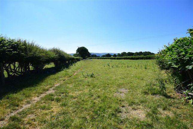 Land for sale in Lot 2, Land Near School House, Llanwnog, Caersws, Powys