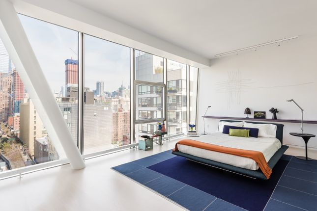 Modern Double Bedroom With City Views