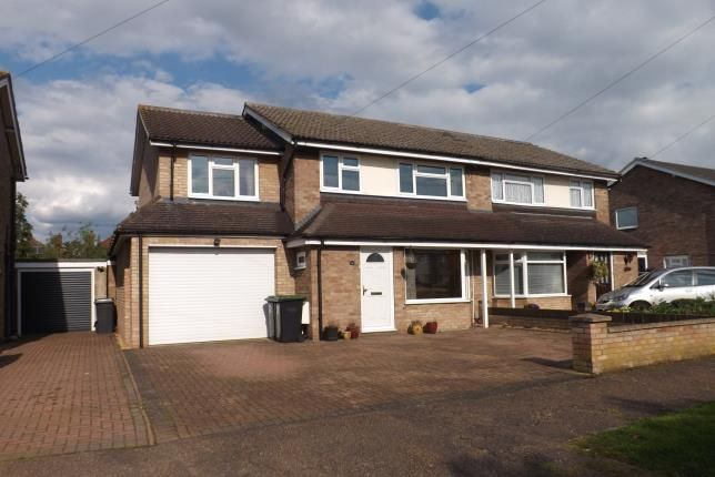 Thumbnail Semi-detached house for sale in Western Way, Sandy, Bedfordshire