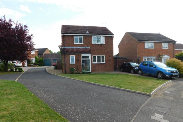 Thumbnail Detached house for sale in Kipling Way, Stowmarket