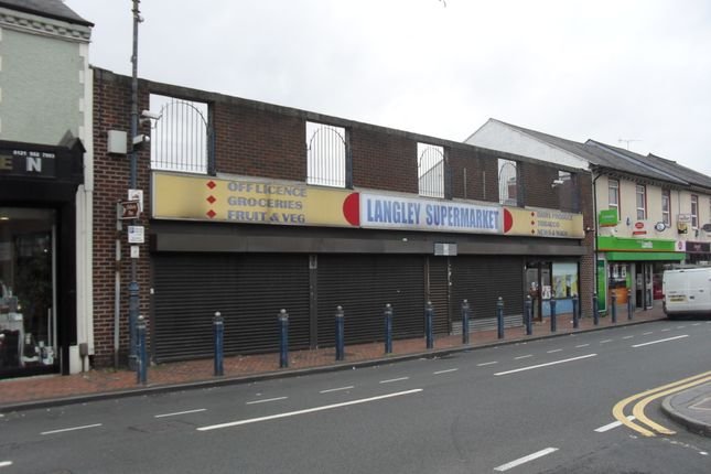 Thumbnail Retail premises for sale in Langley High Street, Oldbury