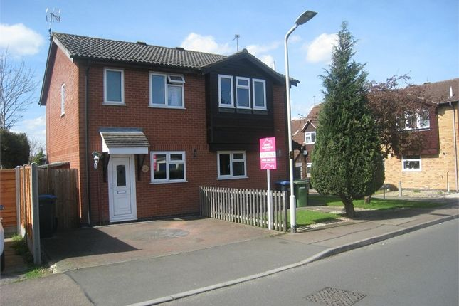 Thumbnail Semi-detached house to rent in Devitt Way, Broughton Astley, Leicester