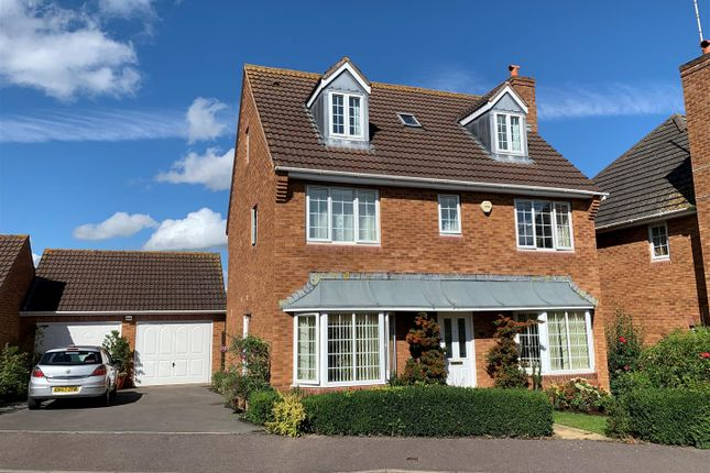 Thumbnail Detached house for sale in The Gallops, Hempsted, Gloucester