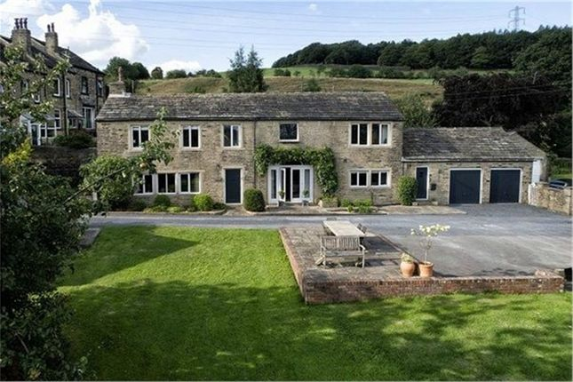 Thumbnail Detached house for sale in Burn Road, Huddersfield, West Yorkshire