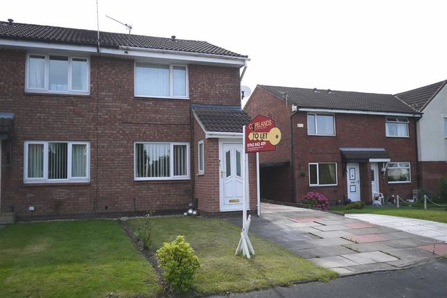 Thumbnail Semi-detached house to rent in Westbury Close, Westhoughton, Bolton