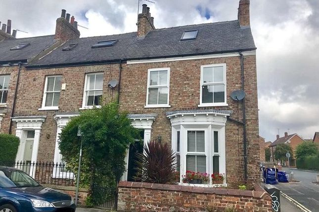 Thumbnail End terrace house to rent in St. Johns Street, York