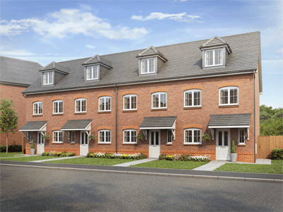 Thumbnail Terraced house for sale in The Tally, Chester Road, Oakenholt