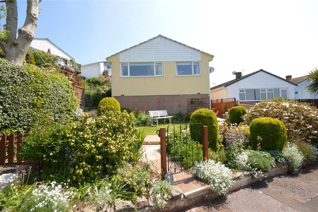 Thumbnail Detached bungalow for sale in Dunning Walk, Teignmouth, Devon